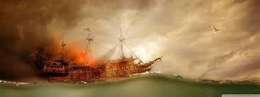 bruciare le navi